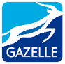 NET4GAS logo gazelle
